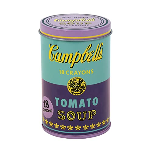 Andy Warhol: Soup Can Crayons Purple