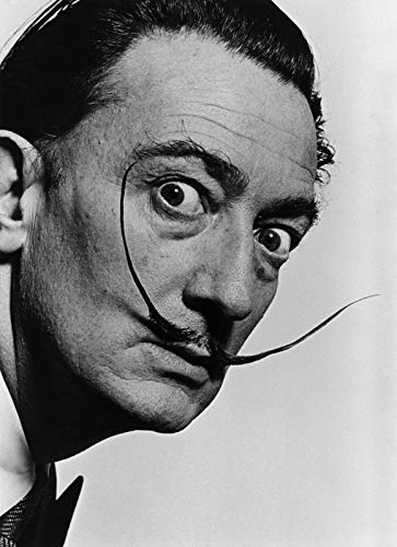 Salvador Dali Self picture - Film Movie Poster - Best Print Art Reproduction Quality Wall Decoration...