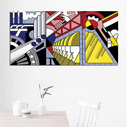 olwonow DIY Pintura Digital Art Roy Lichtenstein Abstract Posters Pop Art Canvas Painting Wall Art...