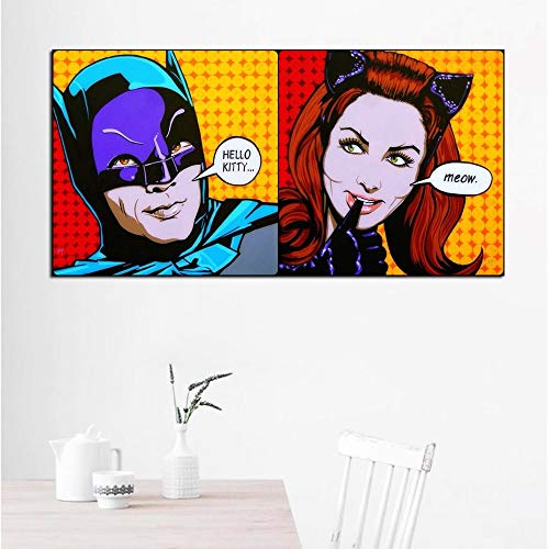 IHlXH Sin Marco Art Roy Lichtenstein Abstract Posters Pop Art Canvas Painting Wall Art Pictures For...