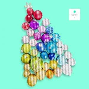 bolas y estrellas de navidad originales