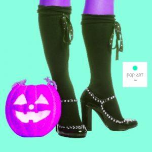 calzado para halloween