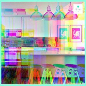 cosas y muebles pop art para la cocina