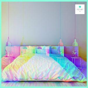 ropa de cama y mobiliario original para dormitorios