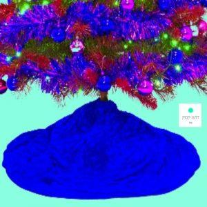 faldas del arbol de navidad diferentes