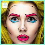 maquillaje comic