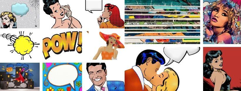 el comic y el pop art
