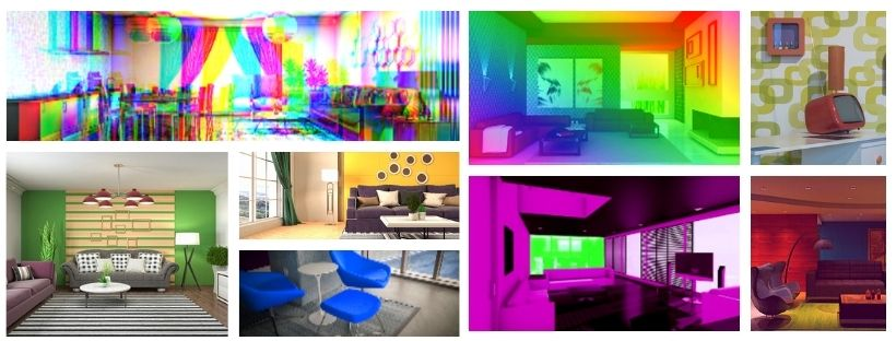 salón pop art ideas